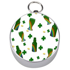 St. Patricks day  Silver Compasses