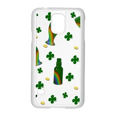 St. Patricks day  Samsung Galaxy S5 Case (White)