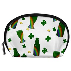 St. Patricks day  Accessory Pouches (Large)