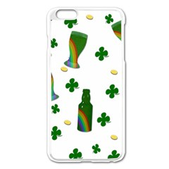 St. Patricks day  Apple iPhone 6 Plus/6S Plus Enamel White Case