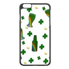 St. Patricks day  Apple iPhone 6 Plus/6S Plus Black Enamel Case