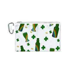 St. Patricks day  Canvas Cosmetic Bag (S)
