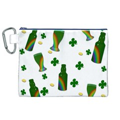 St. Patricks day  Canvas Cosmetic Bag (XL)