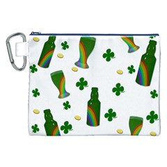 St. Patricks day  Canvas Cosmetic Bag (XXL)