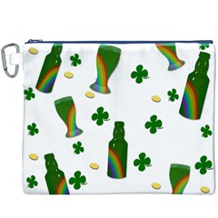 St. Patricks day  Canvas Cosmetic Bag (XXXL)
