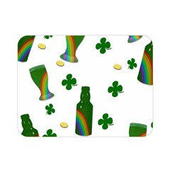 St. Patricks day  Double Sided Flano Blanket (Mini)