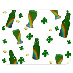 St. Patricks day  Double Sided Flano Blanket (Medium)