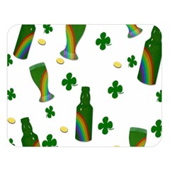St. Patricks day  Double Sided Flano Blanket (Large)
