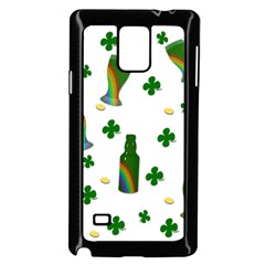 St. Patricks day  Samsung Galaxy Note 4 Case (Black)