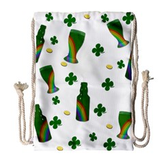 St. Patricks day  Drawstring Bag (Large)
