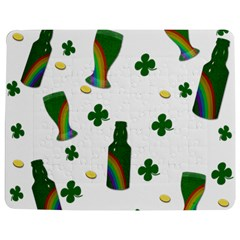 St. Patricks day  Jigsaw Puzzle Photo Stand (Rectangular)
