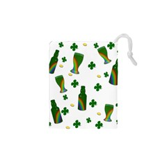 St. Patricks day  Drawstring Pouches (XS)