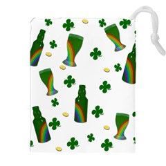 St. Patricks day  Drawstring Pouches (XXL)