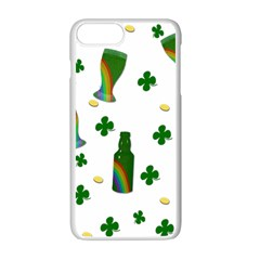 St. Patricks day  Apple iPhone 7 Plus White Seamless Case