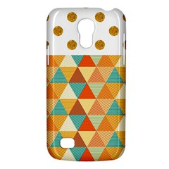 Golden dots and triangles pattern Galaxy S4 Mini