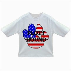 Plott Name Usa Flag Paw Infant/Toddler T-Shirts