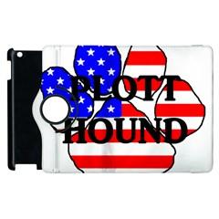 Plott Name Usa Flag Paw Apple iPad 2 Flip 360 Case