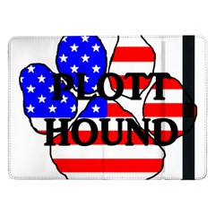 Plott Name Usa Flag Paw Samsung Galaxy Tab Pro 12.2  Flip Case