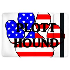 Plott Name Usa Flag Paw iPad Air 2 Flip