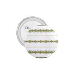Ethnic Floral Stripes 1.75  Buttons