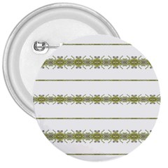 Ethnic Floral Stripes 3  Buttons