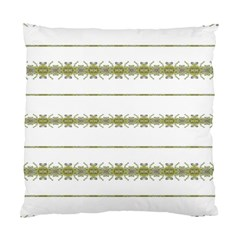 Ethnic Floral Stripes Standard Cushion Case (Two Sides)