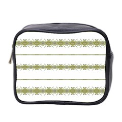 Ethnic Floral Stripes Mini Toiletries Bag 2-Side