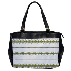 Ethnic Floral Stripes Office Handbags