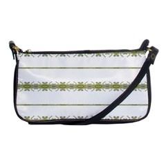 Ethnic Floral Stripes Shoulder Clutch Bags
