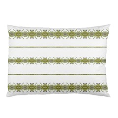 Ethnic Floral Stripes Pillow Case (Two Sides)