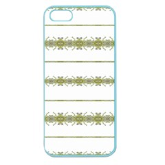 Ethnic Floral Stripes Apple Seamless iPhone 5 Case (Color)