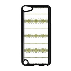 Ethnic Floral Stripes Apple iPod Touch 5 Case (Black)