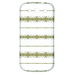 Ethnic Floral Stripes Samsung Galaxy S3 S III Classic Hardshell Back Case