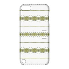Ethnic Floral Stripes Apple iPod Touch 5 Hardshell Case with Stand