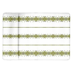 Ethnic Floral Stripes Samsung Galaxy Tab 10.1  P7500 Flip Case