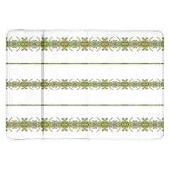 Ethnic Floral Stripes Samsung Galaxy Tab 8.9  P7300 Flip Case