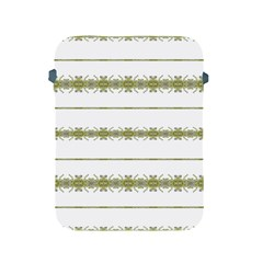 Ethnic Floral Stripes Apple iPad 2/3/4 Protective Soft Cases