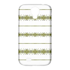 Ethnic Floral Stripes Samsung Galaxy S4 Classic Hardshell Case (PC+Silicone)