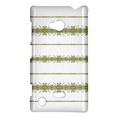 Ethnic Floral Stripes Nokia Lumia 720