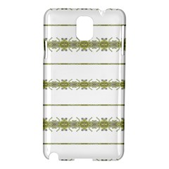 Ethnic Floral Stripes Samsung Galaxy Note 3 N9005 Hardshell Case