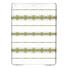 Ethnic Floral Stripes iPad Air Hardshell Cases