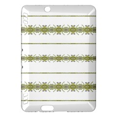 Ethnic Floral Stripes Kindle Fire HDX Hardshell Case