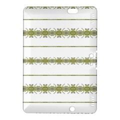 Ethnic Floral Stripes Kindle Fire HDX 8.9  Hardshell Case
