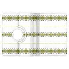 Ethnic Floral Stripes Kindle Fire HDX Flip 360 Case