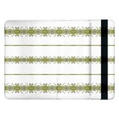Ethnic Floral Stripes Samsung Galaxy Tab Pro 12.2  Flip Case