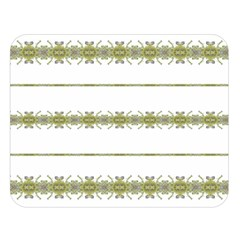 Ethnic Floral Stripes Double Sided Flano Blanket (Large)