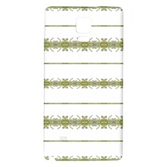 Ethnic Floral Stripes Galaxy Note 4 Back Case