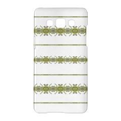 Ethnic Floral Stripes Samsung Galaxy A5 Hardshell Case
