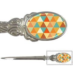 Triangles Pattern  Letter Openers
