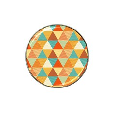 Triangles Pattern  Hat Clip Ball Marker (10 pack)